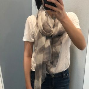 Club Monaco silk scarf